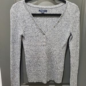 American Eagle Outfitters AEO Henley Knit …